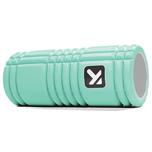 Trigger Point Performance Grid 1.0 Foam Roller for Exercise, Deep Tissue Massage and Muscle Recovery (13-Inch), Mint