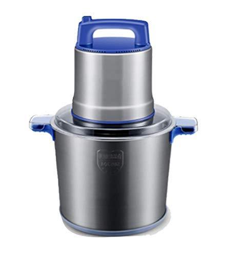 GJNVBDZSF Picadora de Carne 8L Picadora de Carne Comercial 1200W Licuadora de Carne picada de Alta Potencia Dispositivo de trituradora de ajo de Pimienta de Acero Inoxidable eléctrico para el hogar