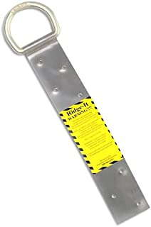 Guardian Fall Protection 00500 RIDG-1 Single D-Ring Roof Anchor with Nails 11-Inch in Length and 1 D-ring