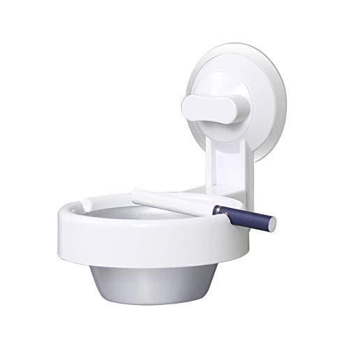 Liitrton Wandaschenbecher Badezimmer Aschenbecher mit Saugnapf WC Hängende Zigarettenbox für Badezimmer Küche Bar