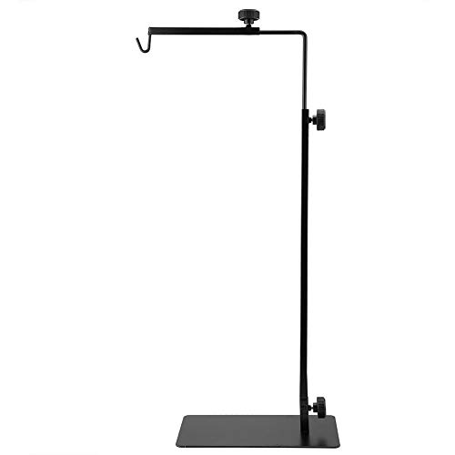 Pssopp Vloerlamp Stand Verstelbare Reptiel Lamp Stand Houder Metalen Lamp Beugel Verwarming Lamp Houder voor Reptiel Terrarium