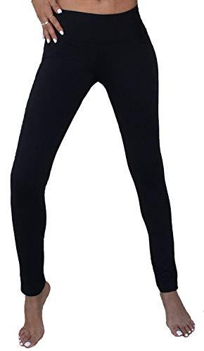 Srirachas Crotchless Yoga Pants - Leggings (Extra Large) Black