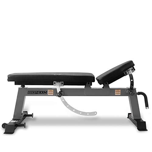 CAP Barbell Deluxe Utility Weight Bench, Gray (FM-CS804DX-GY)