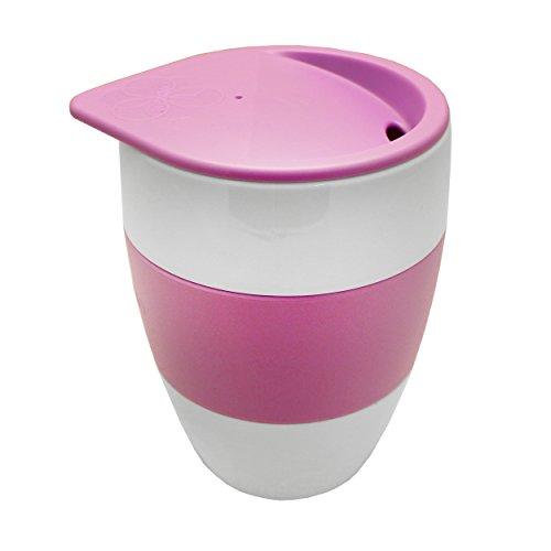 Tassimo Koziol Aromabecher To Go, Kaffeebecher, Kunststoff, Lila, 400 ml