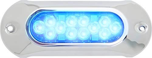 Attwood Marine Attwood 66uw12b-7 lumières LED étanche Armor, 5.000 lumens, couleur BLEU, Única