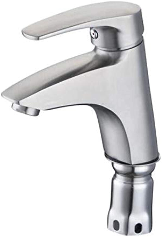 Wasserhahn Kaltwasser Spülarmaturotelstahlwaschbecken Waschbecken Waschbecken Badezimmer Waschbecken Warmes Und Kaltes Wasser Mischbatterie