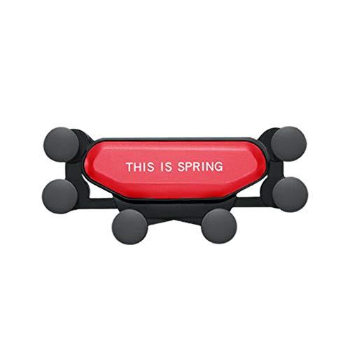 2019 Nuovo Auto-Grip Car Phone Mount Supporto Automatico Telescopico gravit/à Staffa Air Vent Mount Universal Auto Air Vent Grip Gravity Car Phone Holder . Black-5
