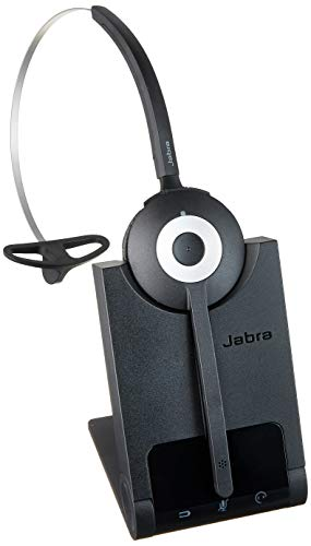 Jabra (930-65-509-105) Wireless Monaural Convertible Headset Designed for PC Based Telephony and Unified Communications Systems