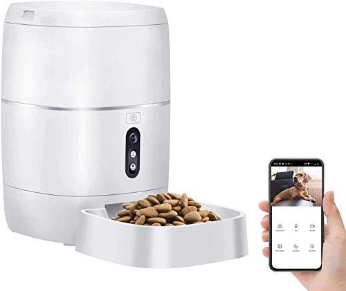 professional LeeKooLuu Q01 HD1080P Camera WiFi Smart Feeder 6L Automatic Cat Food Automatic Dog Feeding…
