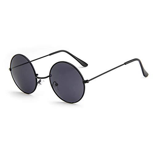 Gafas de Sol Sunglasses Gafas De Sol Redondas Clásicas para Hombres Y Mujeres, Pequeñas Gafas Retro Vintage para Mujeres, Gafas De Sol De Conducción De Metal, Gafas De So