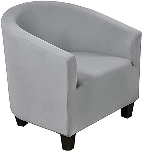 RTSFKFS Tub Chair Funda para sillón Funda de Sillón Chesterfield Elástica Lavable Cubre Sofá Chester 1 Plaza Funda de Sillón Estampada Club Fundas Silla de cóctel (Color : B)