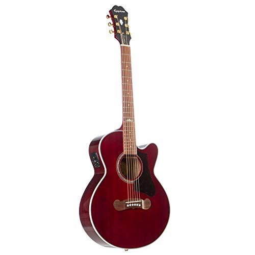 Epiphone EJ-200 Coupe - Wine Red