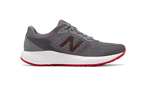 New Balance Men's 520 V6 Steel/Team Red Running Shoe 10 D US