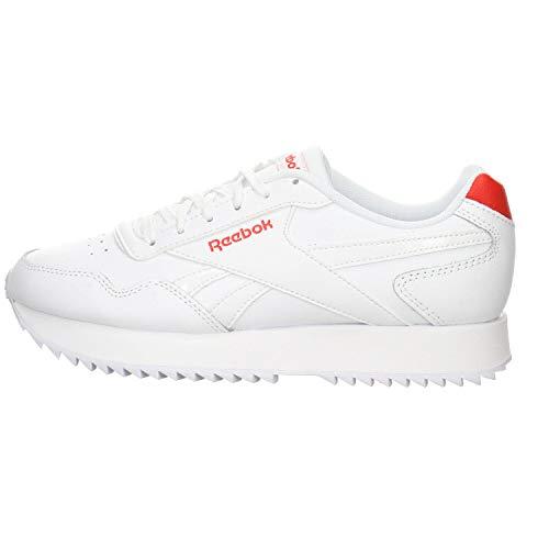 Reebok Royal Glide RPLDBL, Zapatillas de Running para Niñas, Blanco/INSRED/Blanco, 35 EU