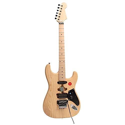 ZUWEI Electric Guitar Kits DIY Guitar ASFKUN, Unfinished Electric Guitar Kits, ASH...