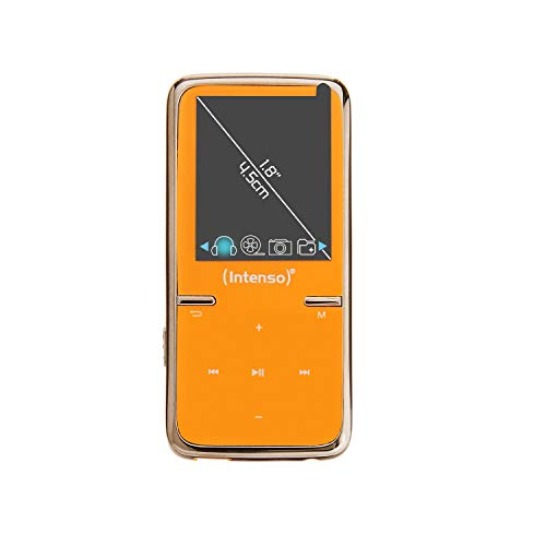 Intenso Video Scooter MP3-Videoplayer (4,5 cm (1,8 Zoll) Display inkl. 8GB micro SD-Karte) orange