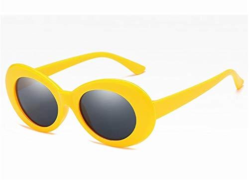 nobrand Wunderbares und doch praktisches Geschenk 3pcs Retro Oval Sonnenbrille - UV400 Sonnenbrillen Für Frauen & Männer, Sportbrillen Brillen (Color : 3)