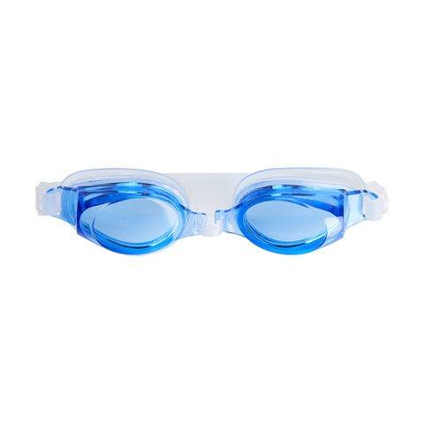 Garden Of Arts zwembril anti-mist waterdichte lekloze bril met gesiameseerde oordopjes en een sterke doos voor mannen, vrouwen, jeugdzwemmers (willekeurige kleur}