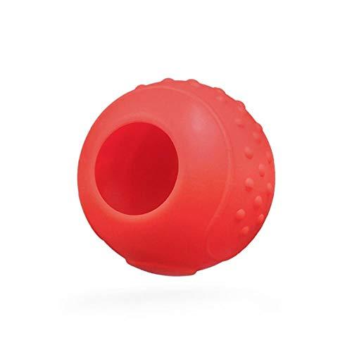 C-FUNN Mango De Silicona Gamepad Funda Protectora para Nintendo Switch Pokemon Pokeball Plus - Rojo