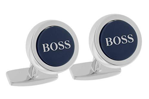 Boss 50412385 Manschettenknöpfe Smith Blau