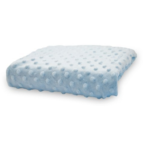 Rumble Tuff Minky Dot Changing Pad Cover, Blue,Standard by Rumble Tuff