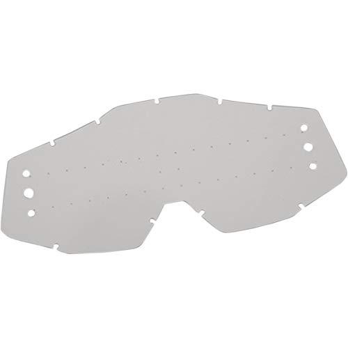 100% ACCURI Lentille de remplacement pour SVS JR Transparent avec trous - Accessoires de lunettes de moto / vélo - Taille unique