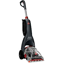 The BISSELL InstaClean Compact refreshes your carpets and clean-up spots & stains Rotating DirtLifter PowerBrush to loosen and remove dirt from carpets The compact design has a retractable, telescopic handle for easy and convenient storage Compact, c...