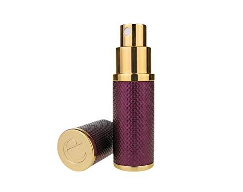 The Essential atomiseur Co. Patina 8ml Violet Parfums Fragrance Sac à main/atomiseur Voyage, Rechargeable, Avec Entonnoir et boîte-cadeau