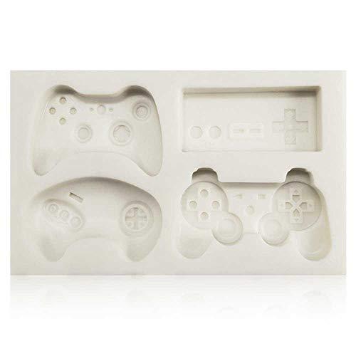 TEEPAO Silikonform Gamers Boy Geschenk Game Controller Form Fondant Silikonform Kuchendekoration Zuckerform Backen Zuckerwerk Mol