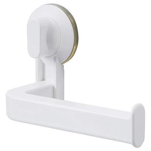 IKEA.. 602.493.85 Stugvik Toilettenpapierhalter mit Saugnapf, weiß