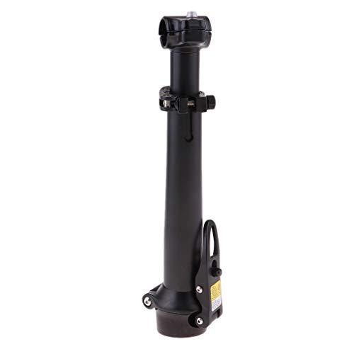 perfeclan Reemplazo Duradero del Vástago del Manillar de La Bicicleta Accesorios de Bicicleta con Elevador Delantero de Liberación Rápida - Negro, Tal como se Describe