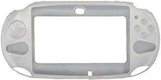 OSTENT Capa protetora de silicone macia compatível com Sony PS Vita PSV PCH-2000 - Cor branca