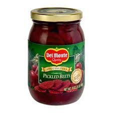 Cheap SALE Start Del Monte Crinkle Cut Pickled Beets 16oz 4 of Recommendation Pack Jar b Glass