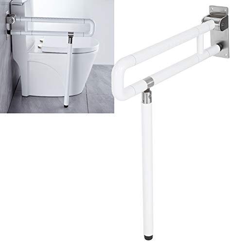 Ejoyous klappbare WC Aufstehhilfe, Wandstützgriff Stützhilfe Haltegriff Toiletten Sicherheits Stütz-Haltegriff für ältere Schwangere Frauen mit Behinderung 71,5 x 61,7 cm 150 kg