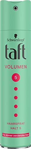 Taft Haarspray Volumen Dünner werdendes Haar Halt 5, 250 ml
