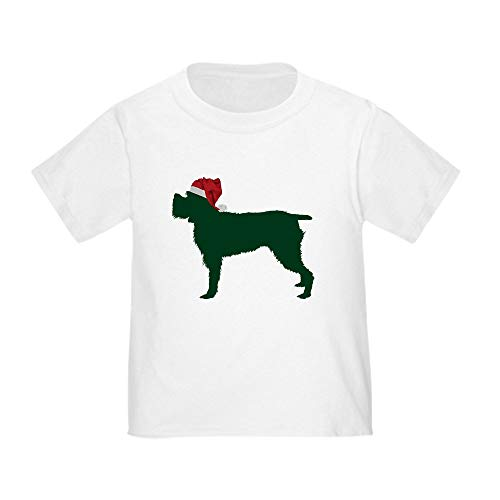 CafePress Wirehaired Pointing Griffon Toddler T Shirt Cute Toddler T-Shirt, 100% Cotton White