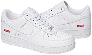 [ナイキ] SUPREME x AIR FORCE 1 LOW シュプリーム x エア フォース 1 LOW CU9225-100 WHT (measurement_28_point_5_centimeters)