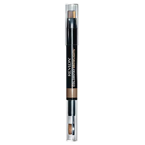 Revlon Colorstay Browlights Pencil, Eyebrow Pencil & Brow Highlighter, Blonde, 0.038 oz