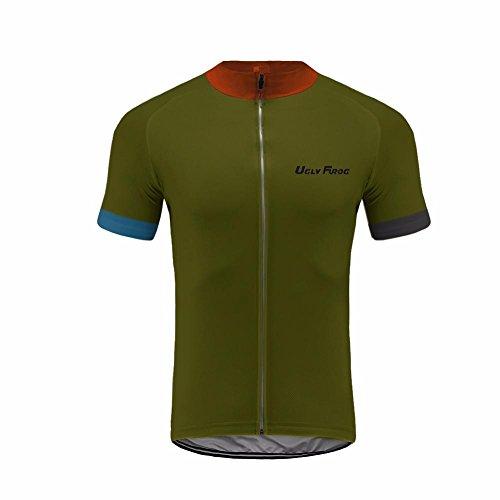 Uglyfrog Magliette Jersey Uomo Mountain Bike Manica Corta Camicia Top Abbigliamento Ciclismo/Body Tuta Ciclismo Completo Bici Uomo Estivo HIZD39