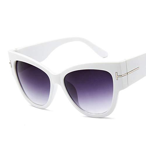 UKKD Gafas De Sol Para Mujer Moda Marca Diseñador Gato Ojo Mujeres Gafas De Sol Femenino Puntos De Pendiente De Sol Gafas De Sol Grandes Oculos Feminino De Sol Uv400