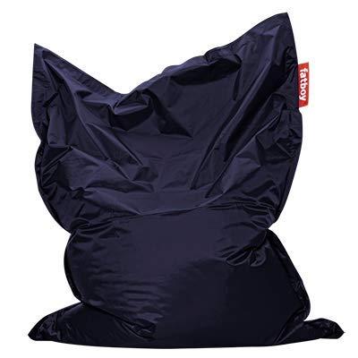Fatboy® Original Sitzsack Blue | Klassische Indoor Beanbag, Sitzkissen in Blau | 180 x 140 cm