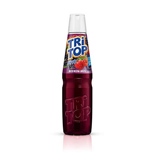 TRi TOP Getränkesirup Beeren-Mix 1 x 600ml | Sirup für Wassersprudler | 1 Flasche ergibt ca. 5 Liter Erfrischungsgetränk