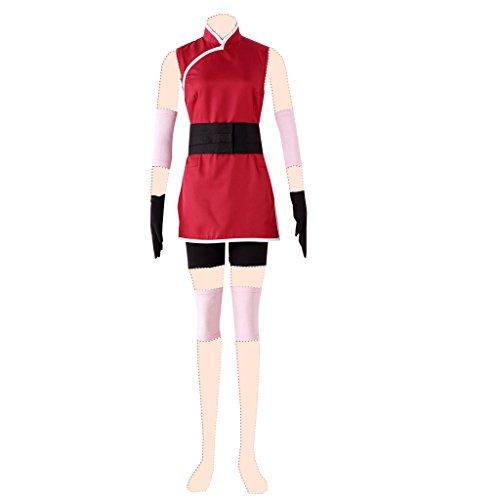 Dream2Reality Naruto Cosplay Costume Haruno Sakura Ver.3 The Last: Naruto The Movie Medium