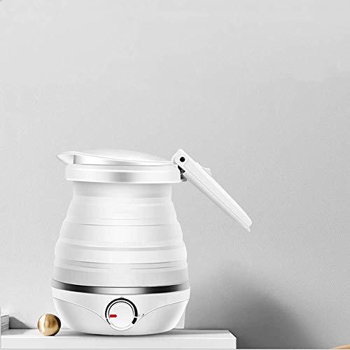 Angela Bouilloire électrique Pliable - Isolant Automatique en Silicone de qualité Alimentaire Bouilli Rapidement Tension Double et Protection du Cordon d'alimentation Amovible