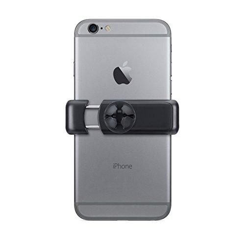 Suporte Veicular Universal para Smartphones, compatível com todos os modelos de smartphones até 8 cm de largura, Preto/Cinza, SUP2B, Geonav, Médio