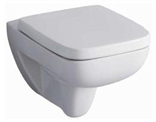 Keramag Renova Plan Tiefspül-Wand-WC 202150000 inkl. Sitz inkl. Absenkautomatik Komplett-Set C05140000, C05000000