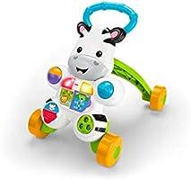 Fisher Primi Passi Spingibile Giocattolo Elettronico Educativo con Musica e Suoni, Adatto per Bambini dai 6 Mesi