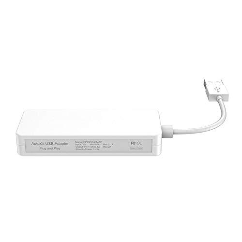 MagiDeal Dongle USB con Cable, Android Auto, Mirroring, Receptor de Enlace de...