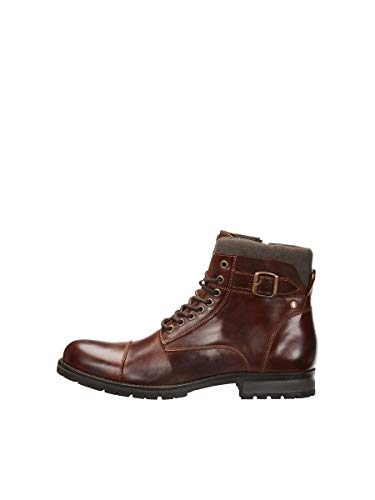JACK & JONES Male Stiefel Herbst 45Brown Stone