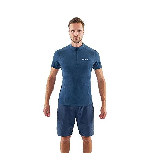 Montane Dart Reißverschluss T-Shirt - SS21 - X Large